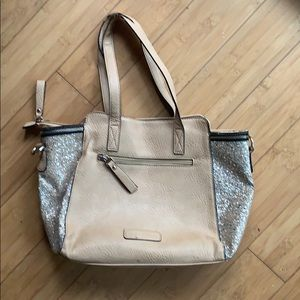 Melie Bianco bag with glitter